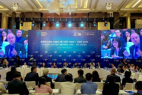 Toàn cảnh Diễn đàn Kinh tế Việt Nam (VIEF)- chuyên đề Thị trường Vốn- Tài chính