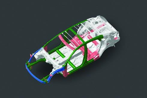 Khung xe có thiết kế tiên tiến nhất từ trước tới nay