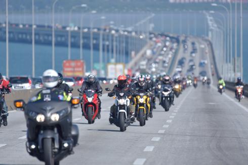 Hàng trăm xe phân khối lớn tham gia hành trình Honda Asian Journey ảnh 3