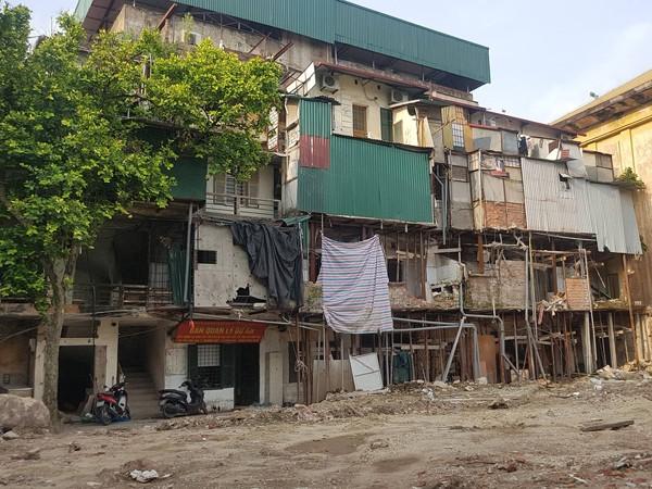 Dự án xã hội hóa xây dựng lại khu tập thể cũ đầu tiên của Hà Nội vẫn chưa thể triển khai