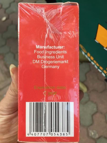 Sản phẩm được quảng cáo sản xuất tại Liên bang Nga