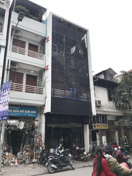 Căn nhà nơi xảy ra vụ cháy tại số 17 phố Nguyễn Khuyến