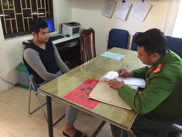 Đối tượng Nguyễn Văn Tính tại cơ quan điều tra