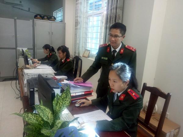 CAH Mê Linh chủ động áp dụng công nghệ trong công tác nghiệp vụ cơ bản