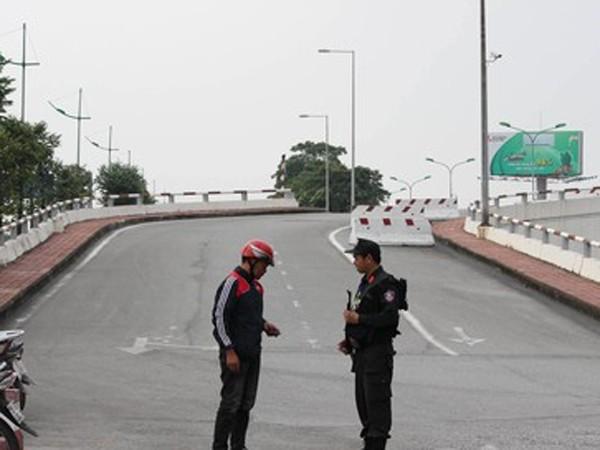 An ninh tại trong và ngoài sân bay Nội Bài được thắt chặt