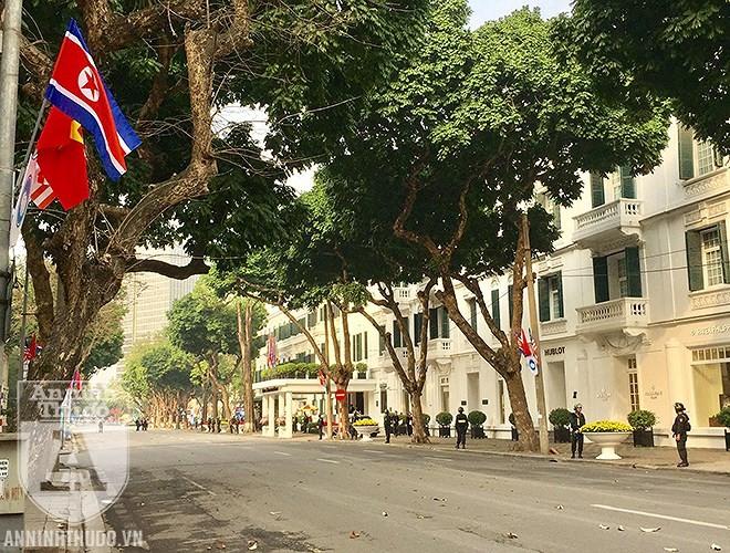 CSCĐ - CATP Hà Nội thắt chặt an ninh tại khách sạn Sofitel Metropol