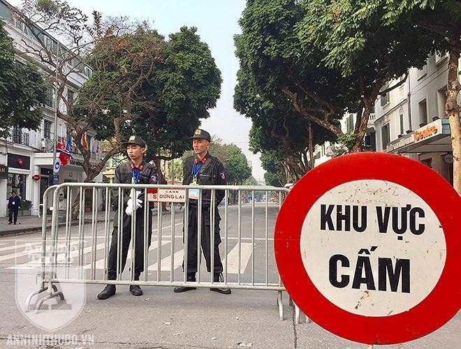 Cảnh sát Cơ động Hà Nội bảo vệ an toàn tuyệt đối hội nghị thượng đỉnh Mỹ - Triều Tiên