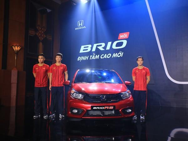 Honda Brio tại lễ ra mắt