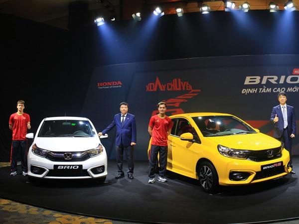 Honda Việt Nam chính thức ra mắt Brio thách thức Vinfast Fadil