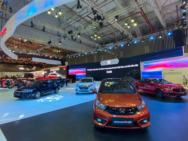 """Honda Việt Nam tung """"át chủ bài"""" tại Triển lãm ô tô Việt Nam 2019"""