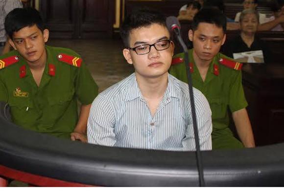 Bị cáo Trần Đại Quang tại phiên tòa sơ thẩm trước đó