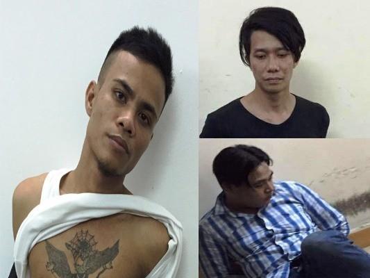 3 đối tượng bị bắt giữ