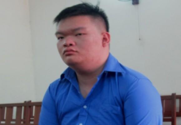 Bị cáo Lý Quang Út tại tòa