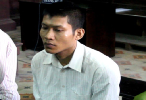 Bị cáo Thạch Tài tại tòa phúc thẩm