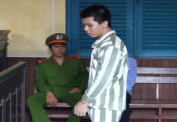 Bị cáo Trần Lê Thái tại tòa phúc thẩm