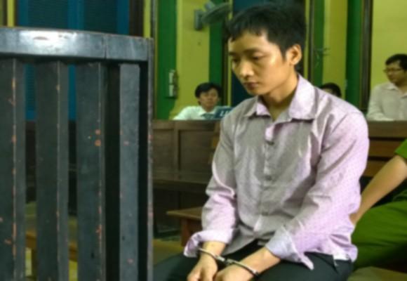 Bị cáo Nguyễn Văn Dũng tại tòa