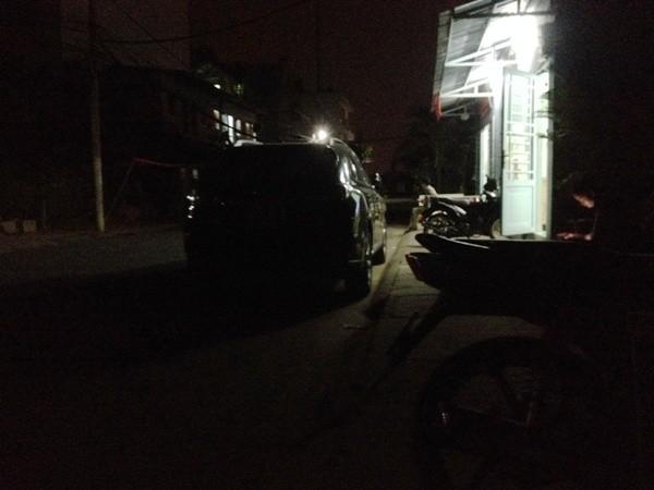 Hiện trường xảy ra vụ việc ở đường Phạm Thái Bường, phường Tân Phong, quận 7