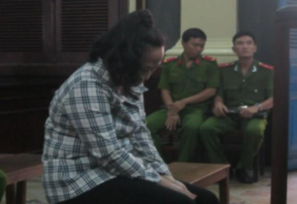 Bị cáo Lê Thị Bạch Yến tại tòa