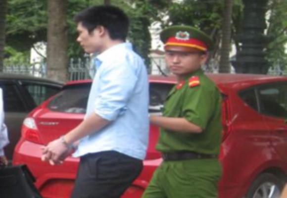 Bị cáo Nguyễn Văn Tưởng sau phiên xử sơ thẩm
