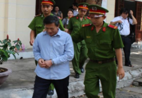 Bị cáo Phạm Hồng Thái sau phiên xử sơ thẩm