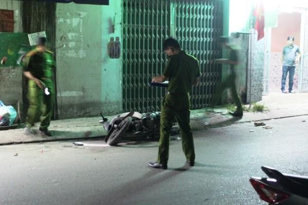 Hiện trường vụ giết người ở quận Bình Tân, TP.HCM đêm 29/4