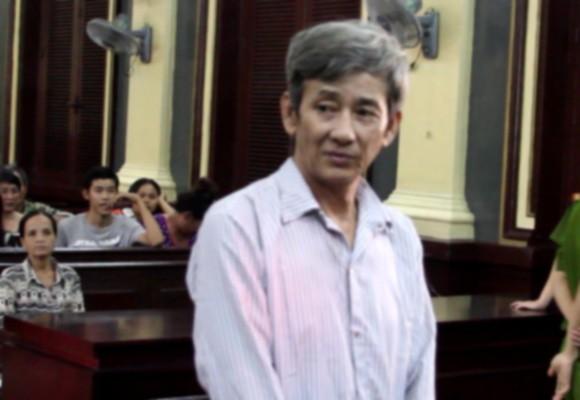 Bị cáo Nguyễn Ngọc Kỉnh tại tòa sơ thẩm