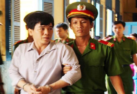 Bị cáo Lê Văn Thành sau phiên xử phúc thẩm