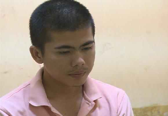 Huỳnh Thanh Khải, nghi phạm giết chết cha ruột của mình. Ảnh: Thành Phong