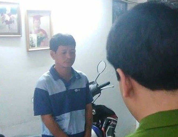 Ngô Văn Tâm khi bị bắt giữ