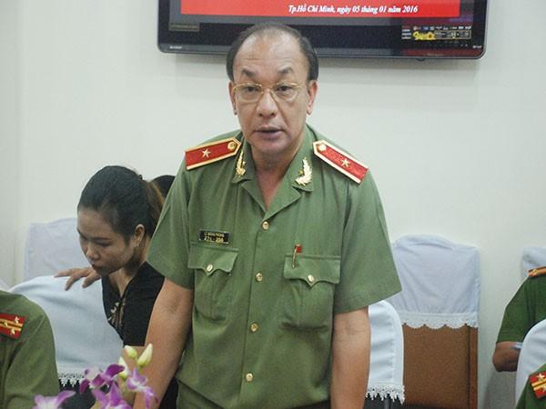 Thiếu tướng Lê Đông Phong- Giám đốc Công an TP.Hồ Chí Minh