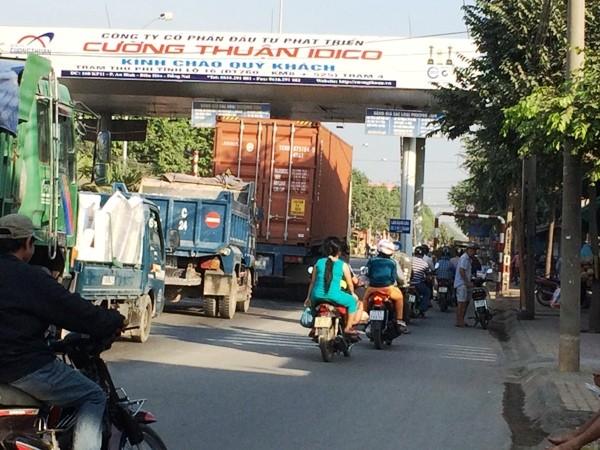 1 trạm thu phí ở địa bàn tỉnh Đồng Nai