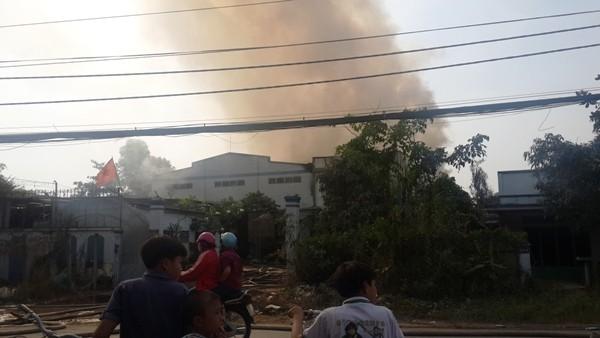 Cơ sở sản xuất loa phát hỏa vào chiều mùng 3 tết Bính Thân