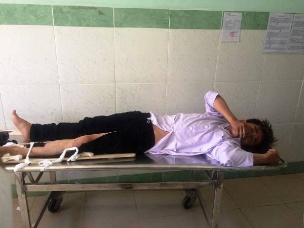 Bùi Thanh Ngọc Ẩn - thanh niên điều khiển xe gắn máy gây tai nạn