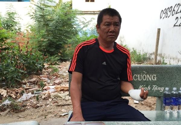 """Ông Giang Quốc Thuận nói: """"Vụ truy sát chỉ diễn ra trong 5 phút nhưng là ác mộng của cuộc đời tôi"""""""