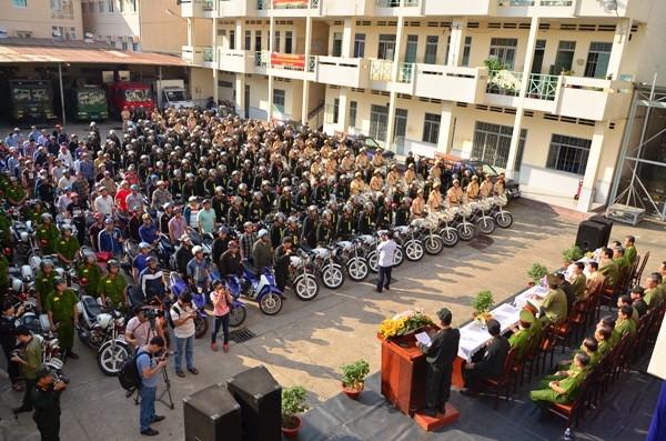 Sau chỉ đạo của Bí thư Đinh La Thăng, Công an TP.HCM tổng lực tấn công tội phạm ảnh 2