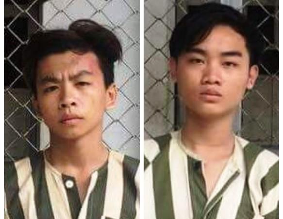 2 đối tượng bị bắt giữ. Ảnh: Cơ quan Công an cung cấp