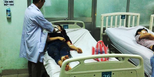 Nạn nhân Nhi trong bệnh viện