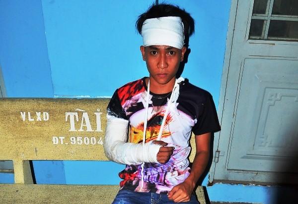 Nhóm thanh niên bị truy sát trọng thương