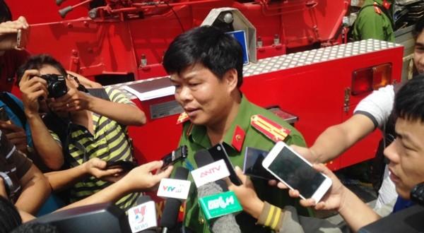 Thượng tá Nguyễn Thanh Hưởng trả lời phỏng vấn