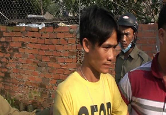 Nguyễn Minh Tâm bị Công an bắt giữ sau khi gây án