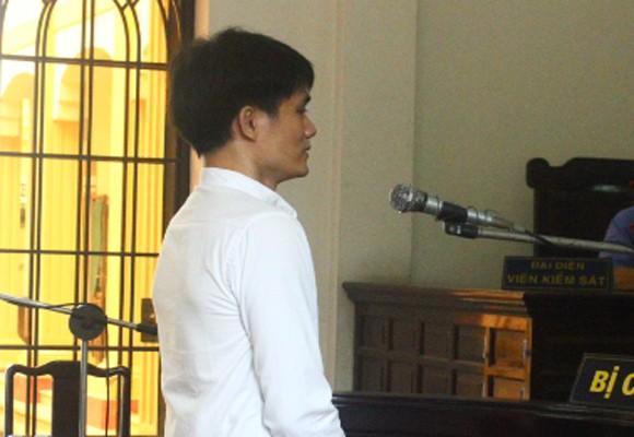 Bị cáo Nguyễn Minh Tâm tại phiên xét xử