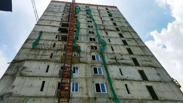 Công trình cao 16 tầng