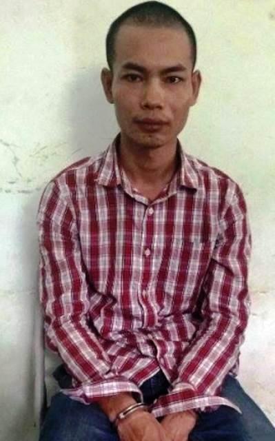 Đối tượng Nguyễn Văn Lực bị bắt giữ