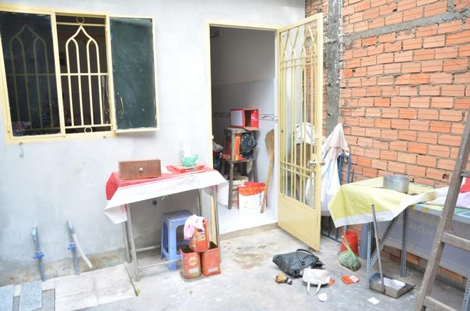 Ngôi nhà xảy ra vụ trộm