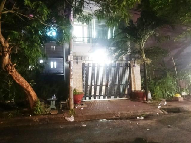 Ngôi nhà trên đường 7A mà nạn nhân bị bắt nhốt