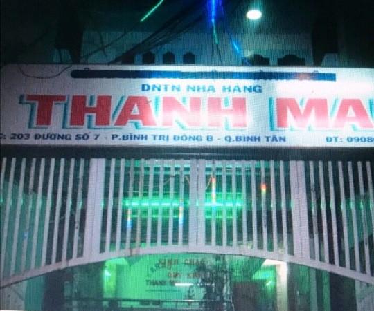 """Ổ """"nhền nhện"""" núp bóng nhà hàng Thanh Mai ở quận Bình Tân"""