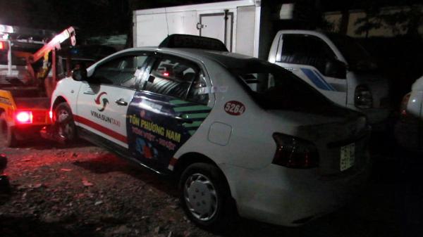 Chiếc taxi, hiện trường xảy ra vụ án mạng