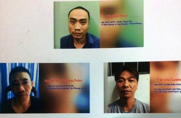 Trùm ma túy Vũ Tuấn Phan và đồng bọn lập xưởng sản xuất ma túy đá ngay tại TP.HCM