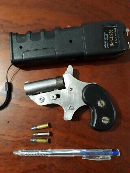 Số vũ khí mà trinh sát thu giữ trong người của đối tượng Út