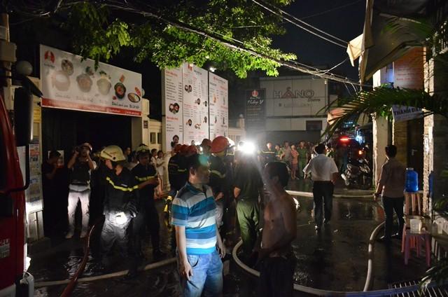 Vụ cháy khiến nhiều người trong khu dân cư bị một phen hoảng loạn